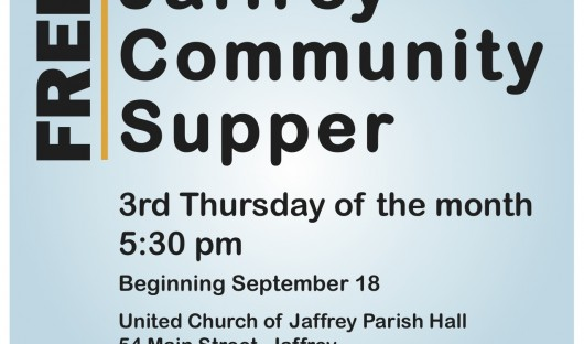 Community Supper Poster